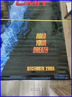 Vertical Limit Theater Lobby Banner oversized 4 ×10 feet (48 cm×120 cm) rare