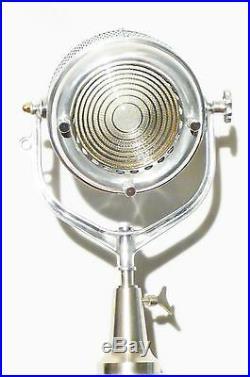 Vintage 1930's Hollywood Movie Film Theatre Light Antique Floor Loft Lamp Eames