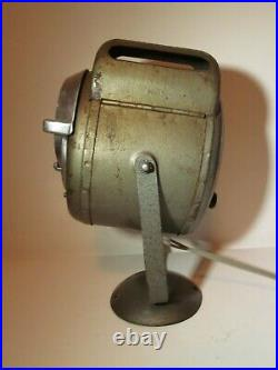 Vintage A. E. CREMER Stage Prop Movie Theatre Spot Lamp Industrial Lighting WORKS