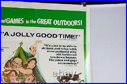 Vintage Carry On Camping Movie Theatre Poster Sign 1 One Sheet England UK