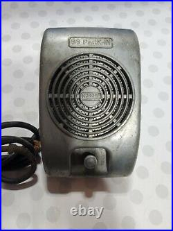 Vintage Drive-In Movie Speaker, Knob Turn, Route 66 PARK IN ST LOUIS Untested