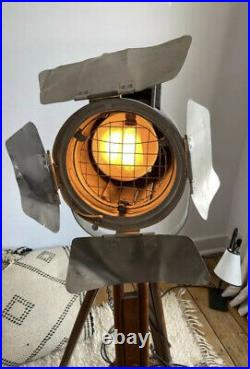 Vintage Film Lamp Industrial Antique Art Theatre Cinema Light