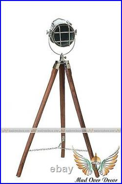 Vintage Film Studio Spot Light Movie Industrial Antique Floor Lamp Theater