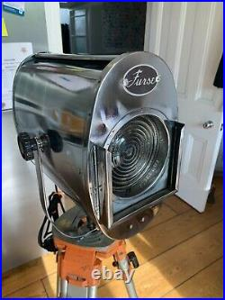 Vintage Furse Theatre Light Film Studio Rewired And Polished