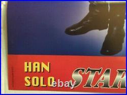 Vintage Star Wars Italian Theatre Movie Poster Boba Fett 1980 26.75x38.75 Promo