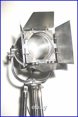 Vintage Theatre Light Art Deco Film Industrial Floor Lamp Antique Strand Cinema