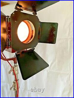 Vintage Theatre Lights From Hollywood Film Set Company