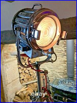 Vintage Theatre Lights From Hollywood Film Set Company. MOLE 407 POLISHED