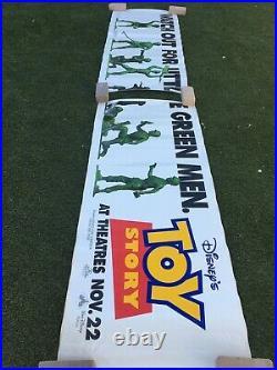Vintage Toy Story, Movie Theater Banner, Sticker, vinyl, Original