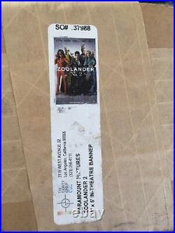 Zoolander 2 8ftx5ft Movie Theater Vinyl 1 Sided Authentic Regal Cinema